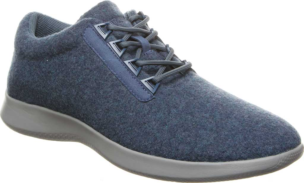 Men's Bearpaw Benjamin Sneaker, Navy Wool, large, image 1