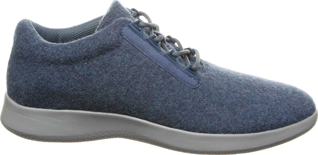 Men's Bearpaw Benjamin Sneaker, Navy Wool, large, image 2