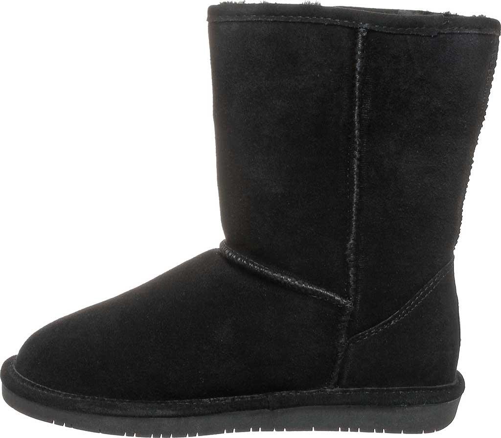 Women's Bearpaw Emma Short Wide Boot, Black II Cow Suede, large, image 3