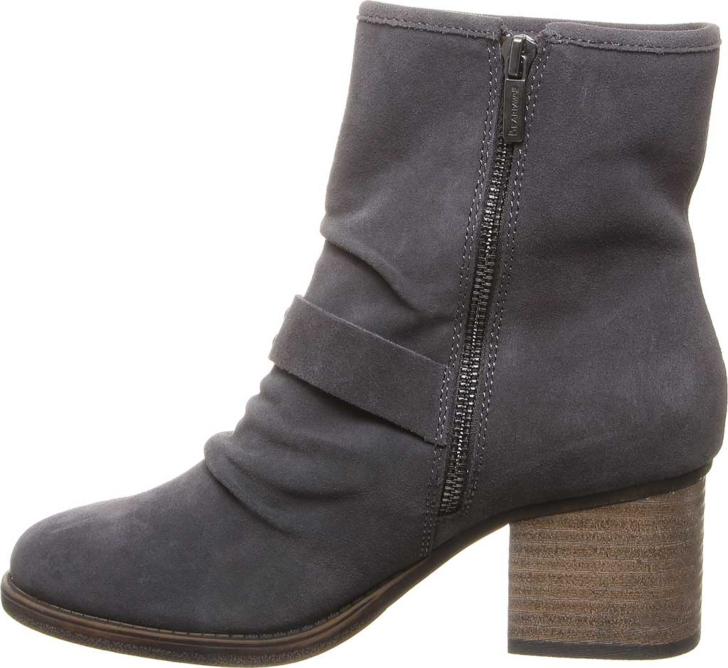 Women's Bearpaw Amethyst Bootie, Charcoal Cow Suede, large, image 3