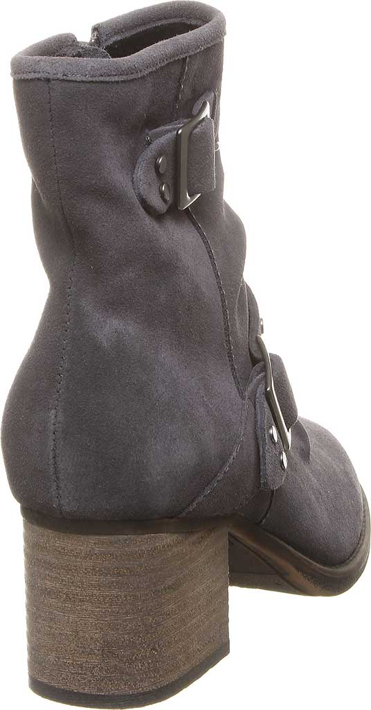 Women's Bearpaw Amethyst Bootie, Charcoal Cow Suede, large, image 4