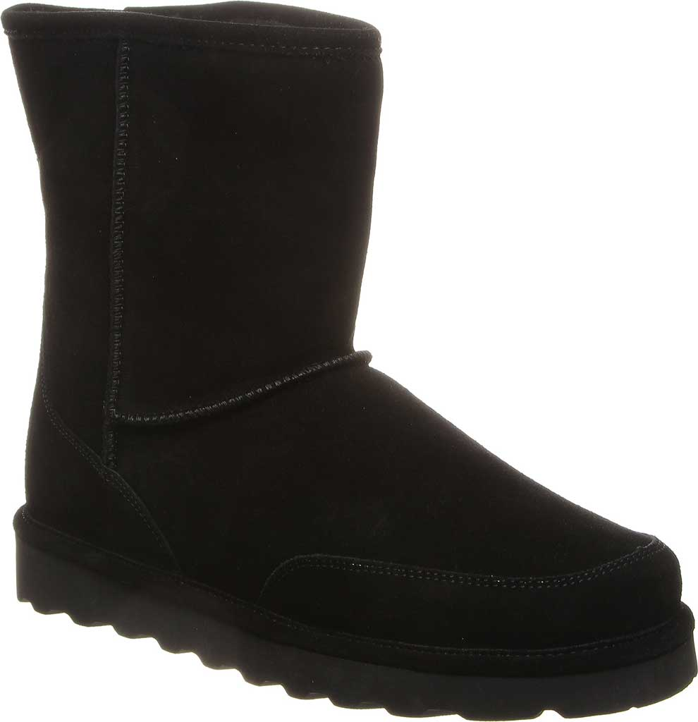 Men's Bearpaw Brady Mid Calf Boot, Black II Cow Suede, large, image 1