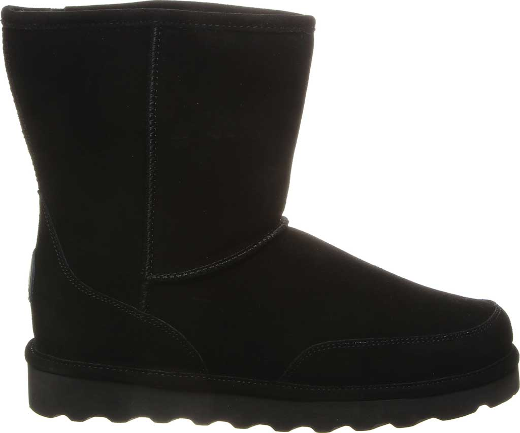 Men's Bearpaw Brady Mid Calf Boot, Black II Cow Suede, large, image 2