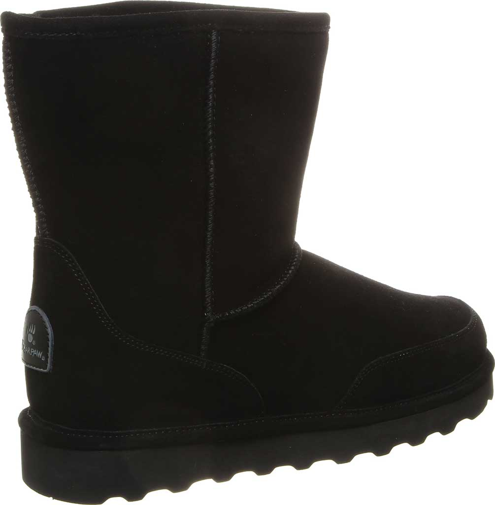 Men's Bearpaw Brady Mid Calf Boot, Black II Cow Suede, large, image 4