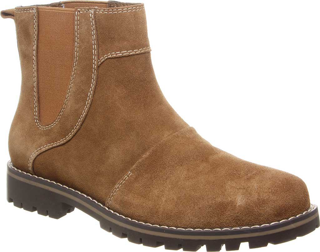 Men's Bearpaw Alastair Chelsea Boot, Hickory II Cow Suede, large, image 1