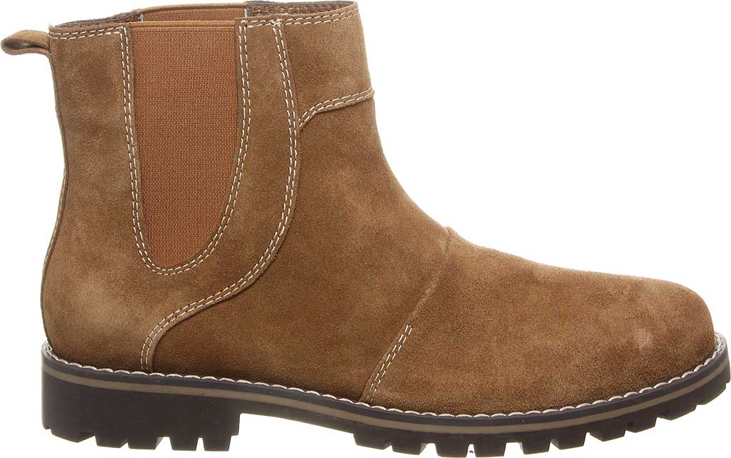 Men's Bearpaw Alastair Chelsea Boot, Hickory II Cow Suede, large, image 2