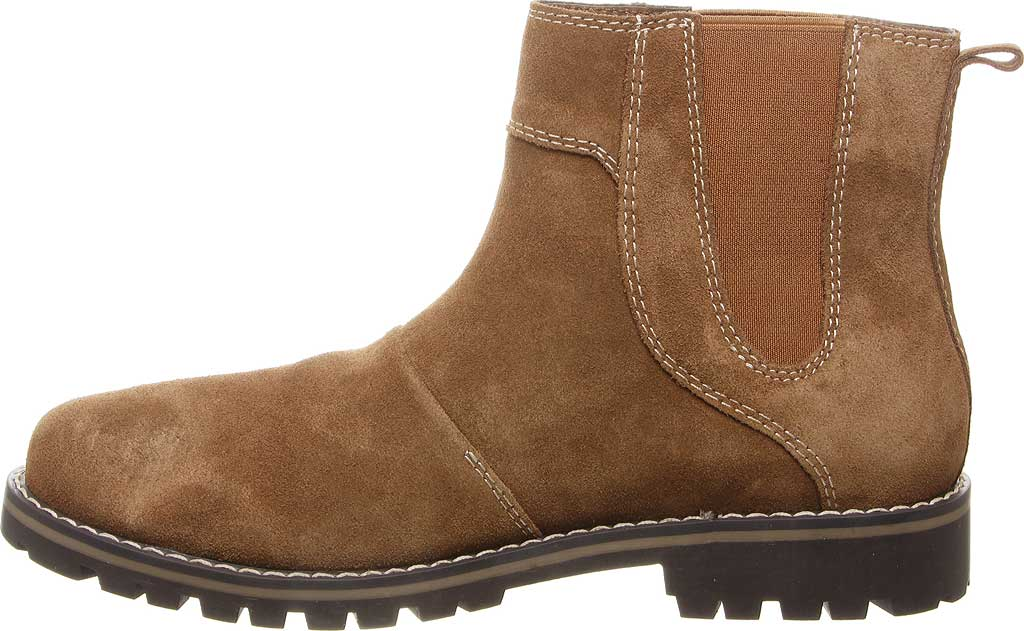Men's Bearpaw Alastair Chelsea Boot, Hickory II Cow Suede, large, image 3