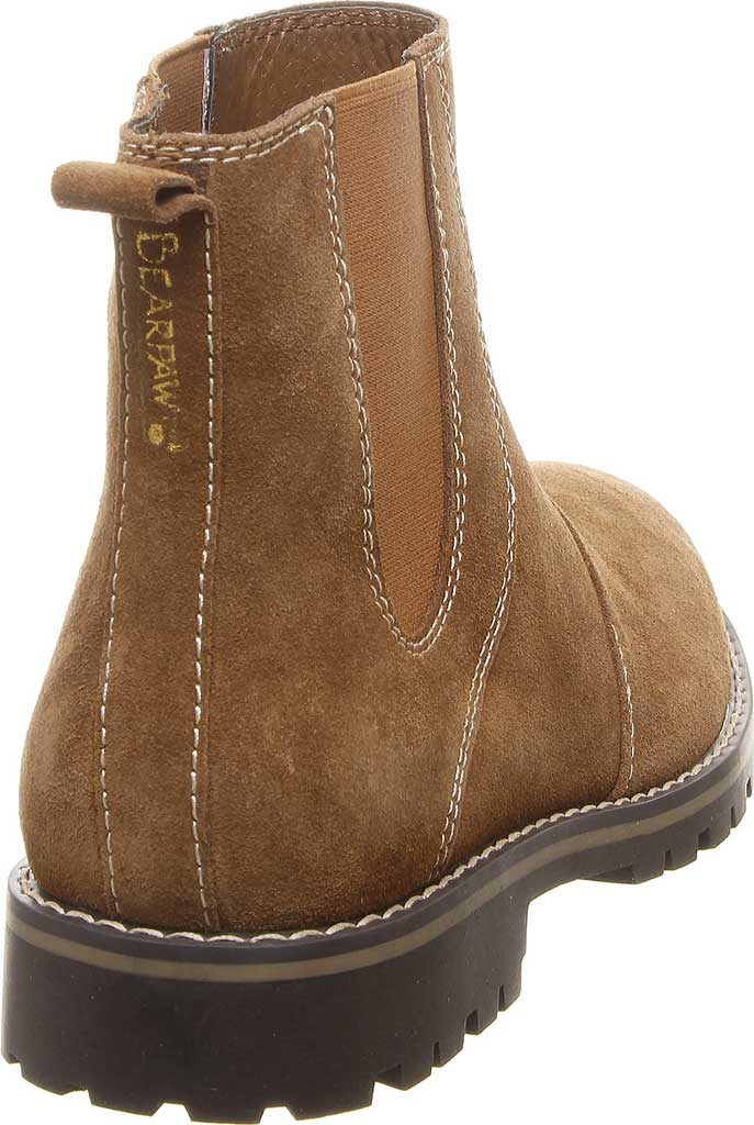 Men's Bearpaw Alastair Chelsea Boot, Hickory II Cow Suede, large, image 4