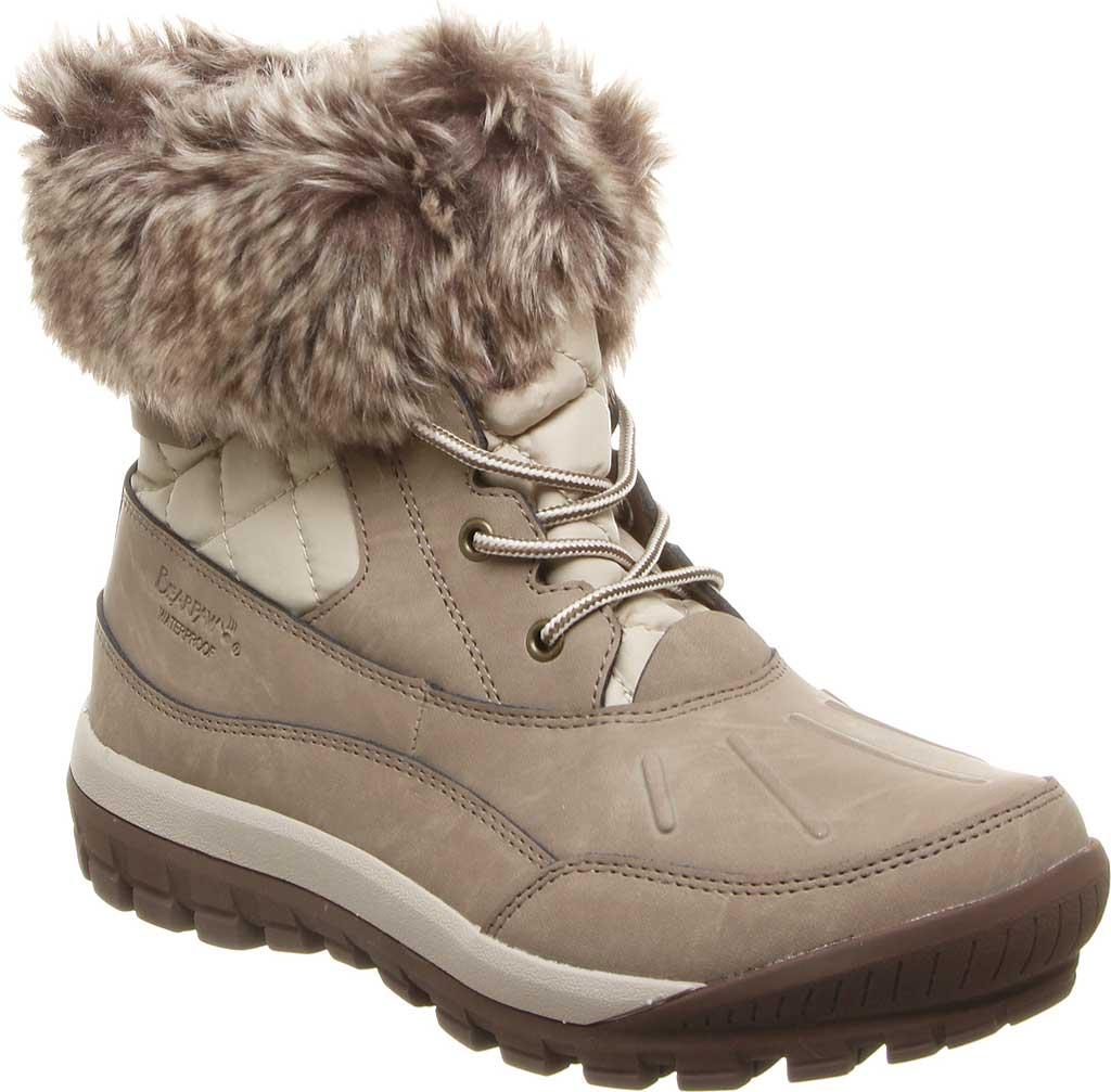 Women's Bearpaw Becka Leather Boot, Stone Leather, large, image 1