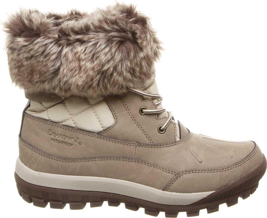 Women's Bearpaw Becka Leather Boot, Stone Leather, large, image 2