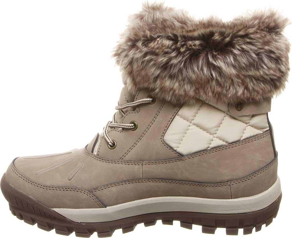 Women's Bearpaw Becka Leather Boot, Stone Leather, large, image 3