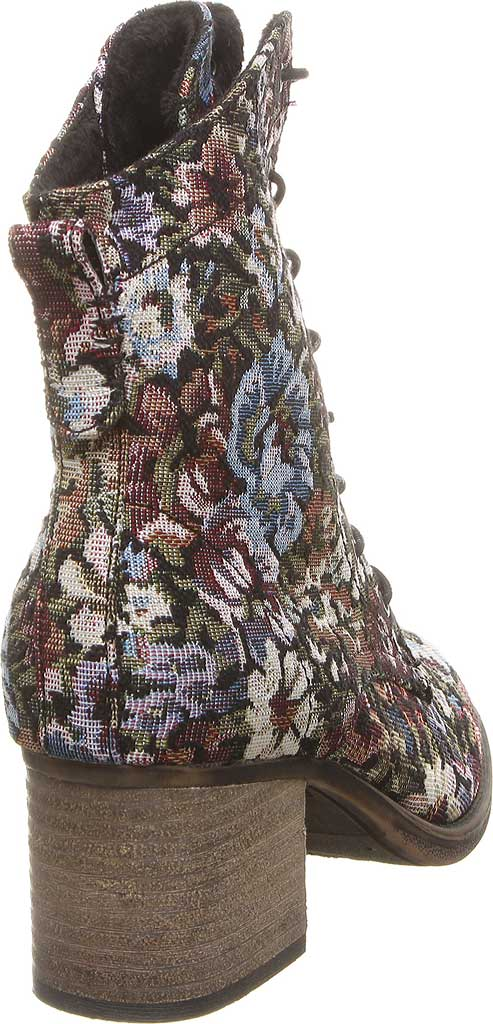 Women's Bearpaw Topaz Bootie, Black Print Fabric, large, image 4