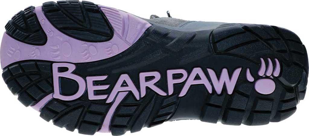 Women's Bearpaw Corsica Solids Waterproof Hiking Boot, Gray Fog Suede/Nylon Mesh, large, image 6