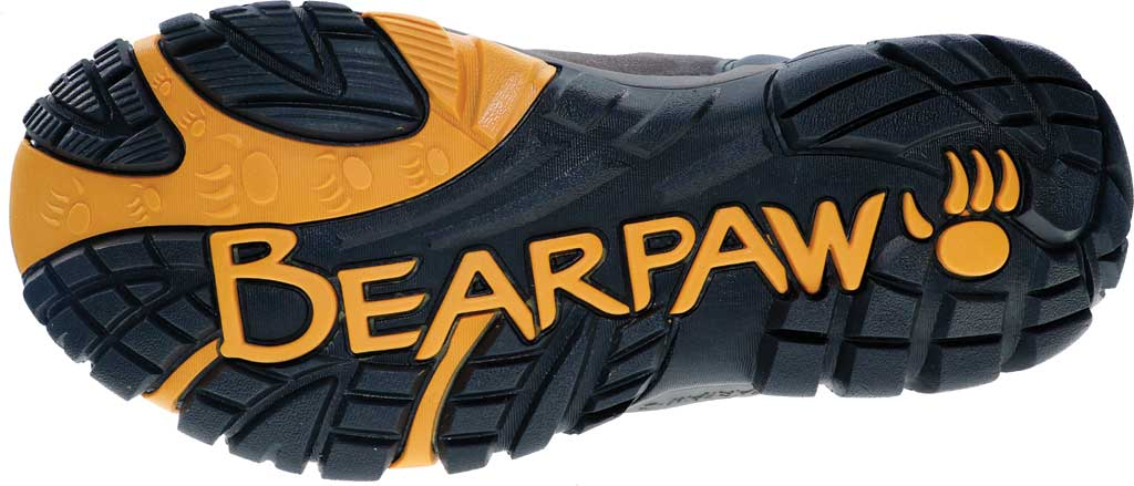 Men's Bearpaw Brock Solids Waterproof Hiking Boot, Taupe Suede/Mesh, large, image 2