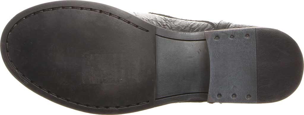 Women's Luxe de Leon Carmen Bootie, Pewter Metallic Waxed Leather, large, image 4
