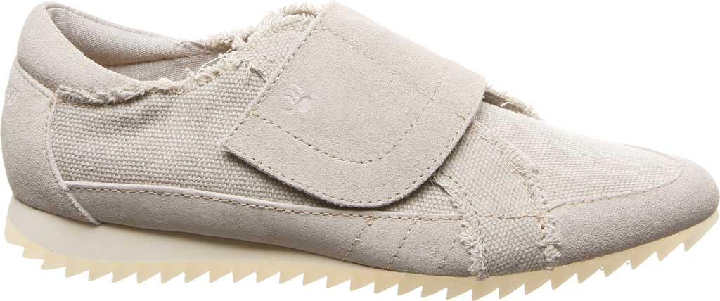 Women's Bearpaw Austin Sneaker, Linen Canvas/Suede, large, image 2