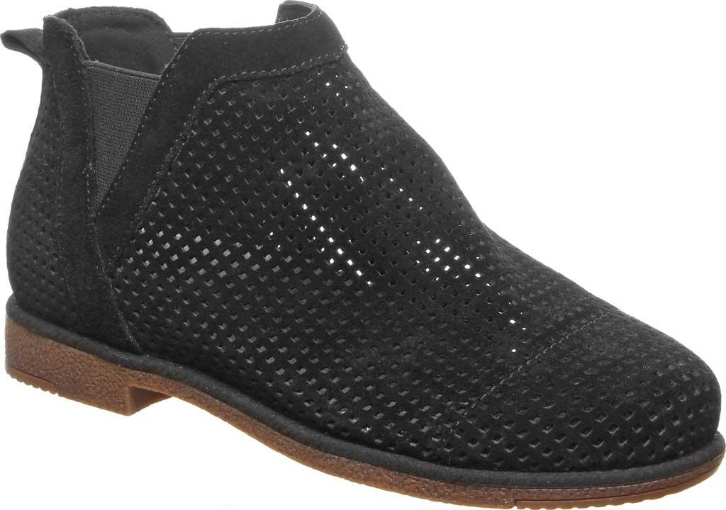 Women's Bearpaw Holland Chelsea Boot, Black II Suede, large, image 1