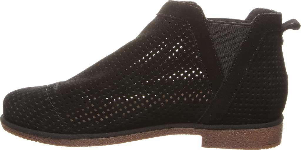 Women's Bearpaw Holland Chelsea Boot, Black II Suede, large, image 3