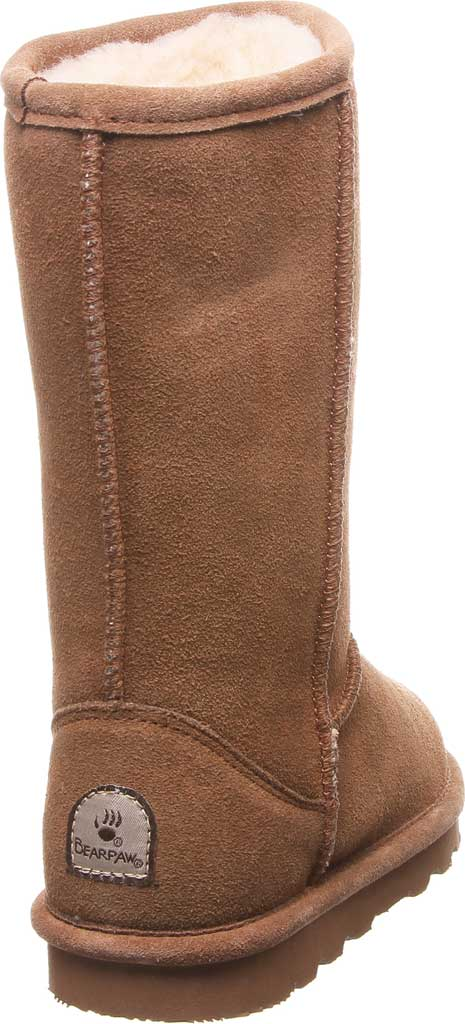 Girls' Bearpaw Elle Tall Youth Boot, Hickory II Suede, large, image 4