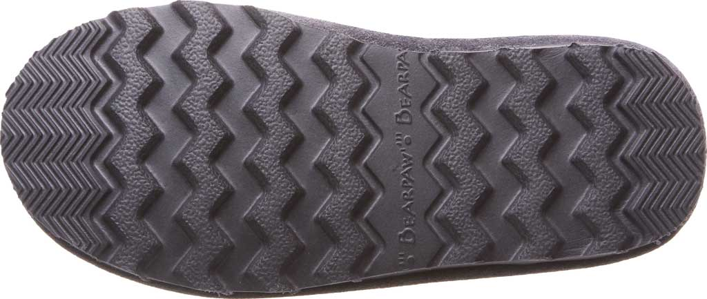 Girls' Bearpaw Elle Tall Youth Boot, Charcoal Suede, large, image 4