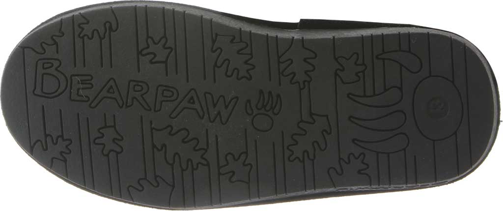 Girls' Bearpaw Phylly Youth Lace Up Boot, Black II Suede, large, image 4