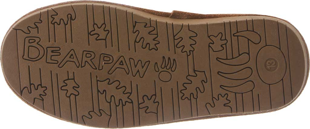 Girls' Bearpaw Phylly Youth Lace Up Boot, Hickory II Suede, large, image 4