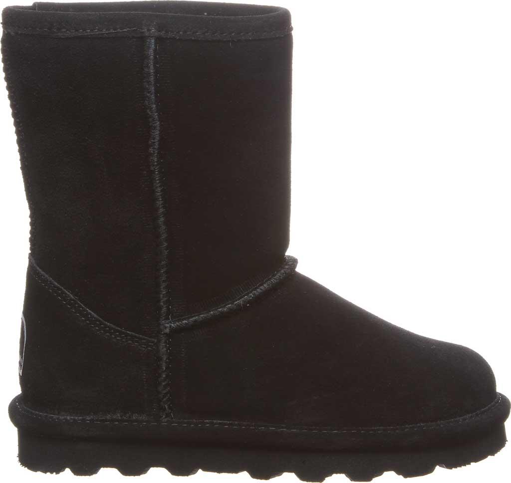 Girls' Bearpaw Elle Youth Boot, Black II Suede, large, image 2