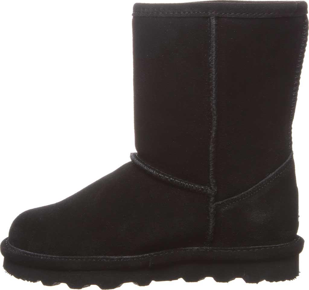 Girls' Bearpaw Elle Youth Boot, Black II Suede, large, image 3
