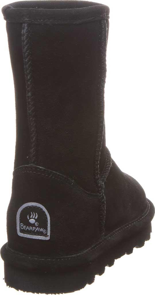 Girls' Bearpaw Elle Youth Boot, Black II Suede, large, image 4