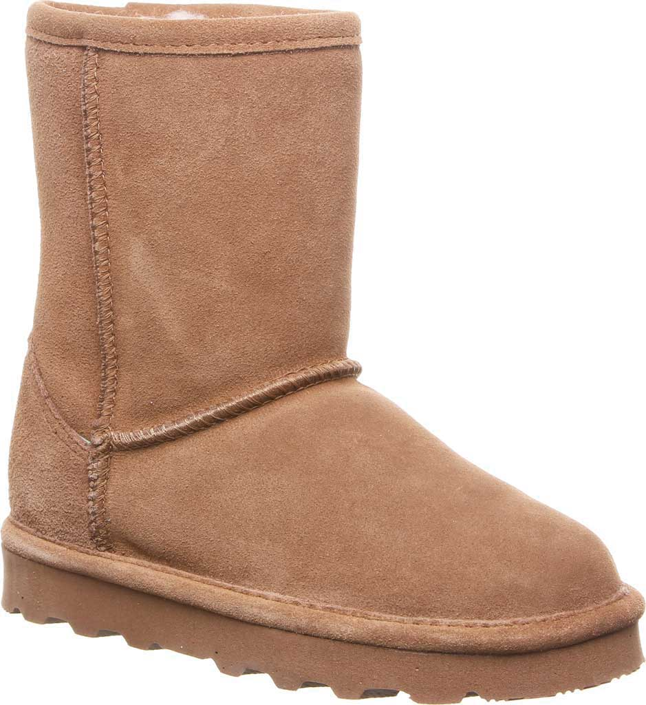 Girls' Bearpaw Elle Youth Boot, Hickory II Suede, large, image 1