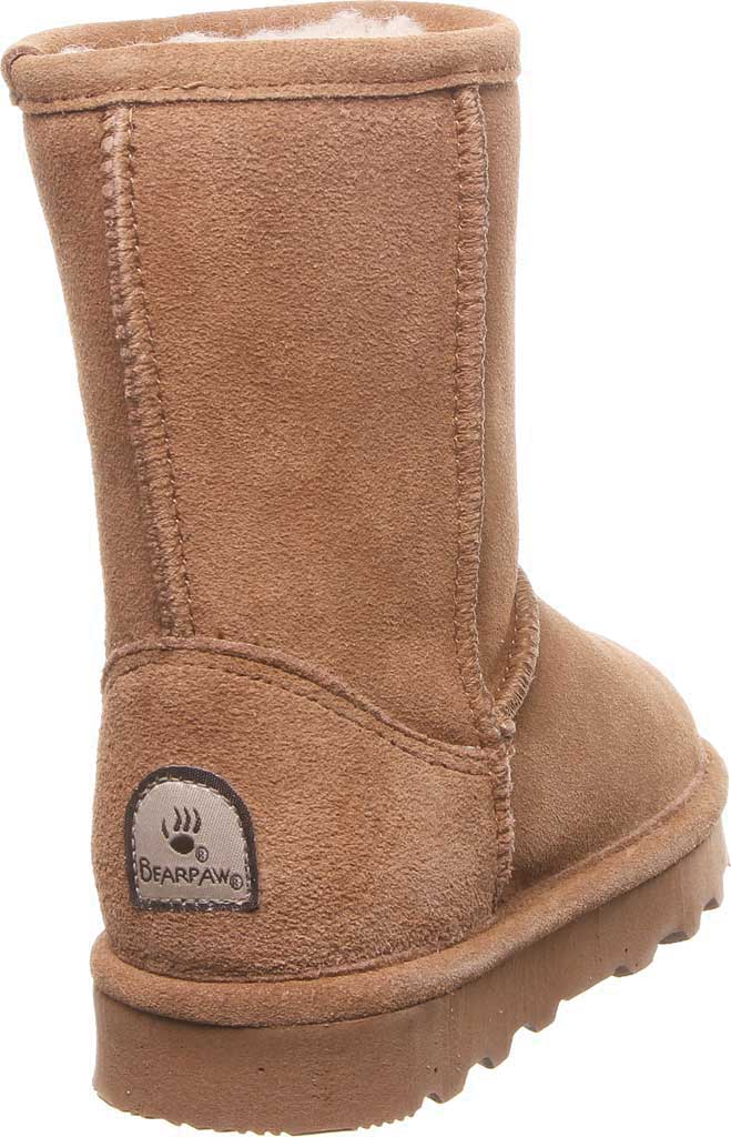Girls' Bearpaw Elle Youth Boot, Hickory II Suede, large, image 3