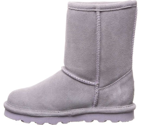 Girls' Bearpaw Elle Youth Boot, Gray Fog Suede, large, image 3