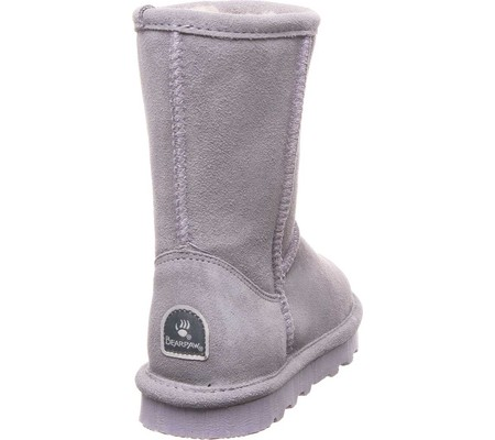 Girls' Bearpaw Elle Youth Boot, Gray Fog Suede, large, image 4