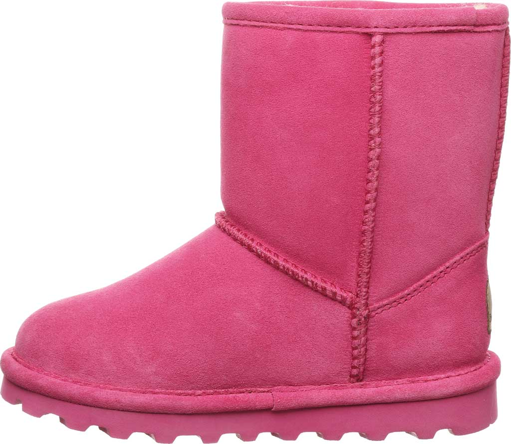 Girls' Bearpaw Elle Youth Boot, Party Pink Suede, large, image 3