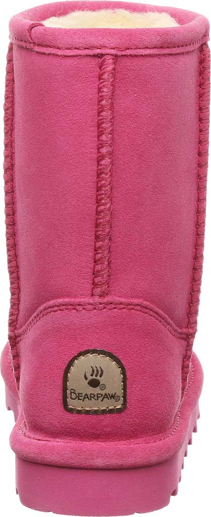 Girls' Bearpaw Elle Youth Boot, Party Pink Suede, large, image 4