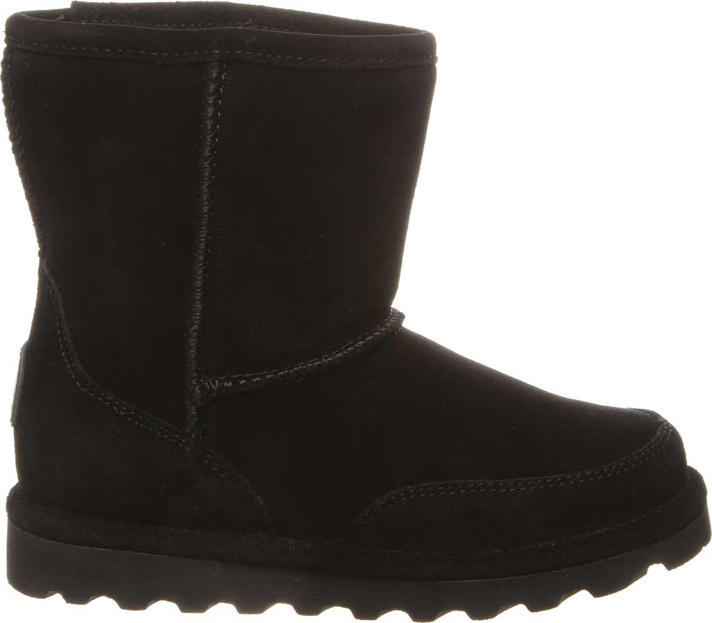 Children's Bearpaw Brady Youth Boot, Black II Suede, large, image 2