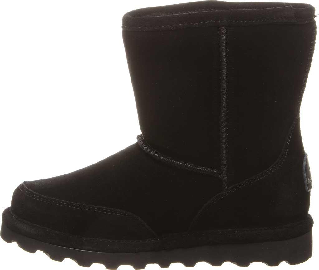 Children's Bearpaw Brady Youth Boot, Black II Suede, large, image 3