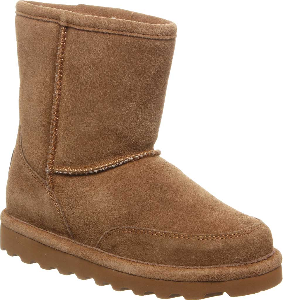 Children's Bearpaw Brady Youth Boot, Hickory II Suede, large, image 1