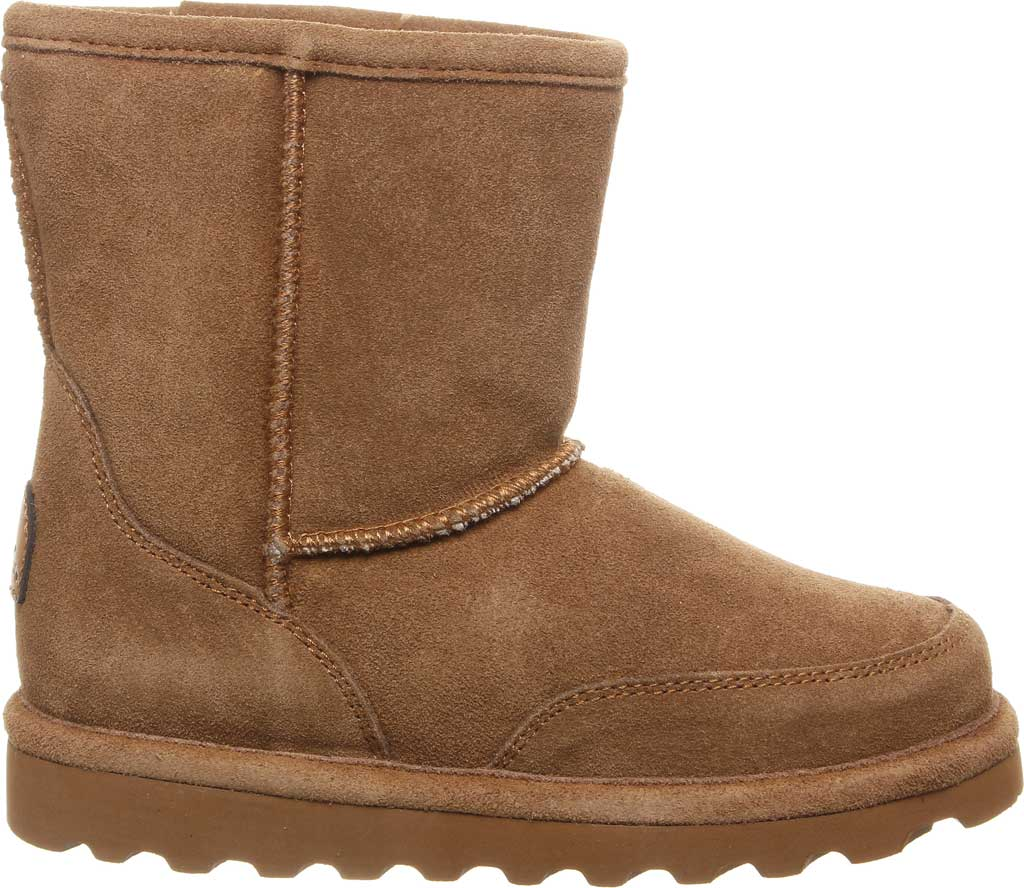 Children's Bearpaw Brady Youth Boot, Hickory II Suede, large, image 2