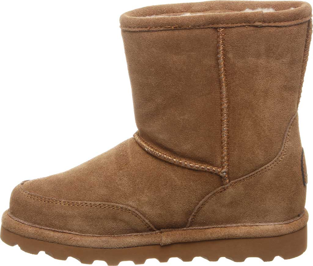 Children's Bearpaw Brady Youth Boot, Hickory II Suede, large, image 3