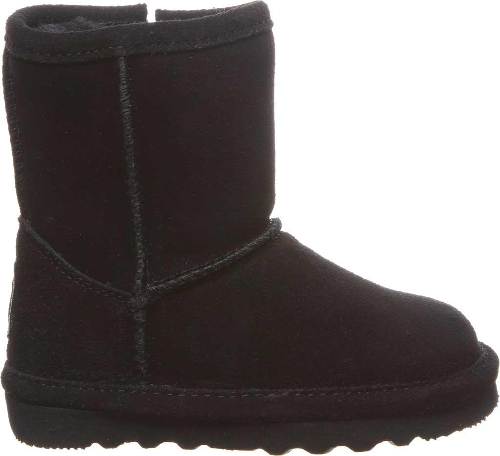Infant Girls' Bearpaw Elle Toddler Zipper Boot, Black II Suede, large, image 2
