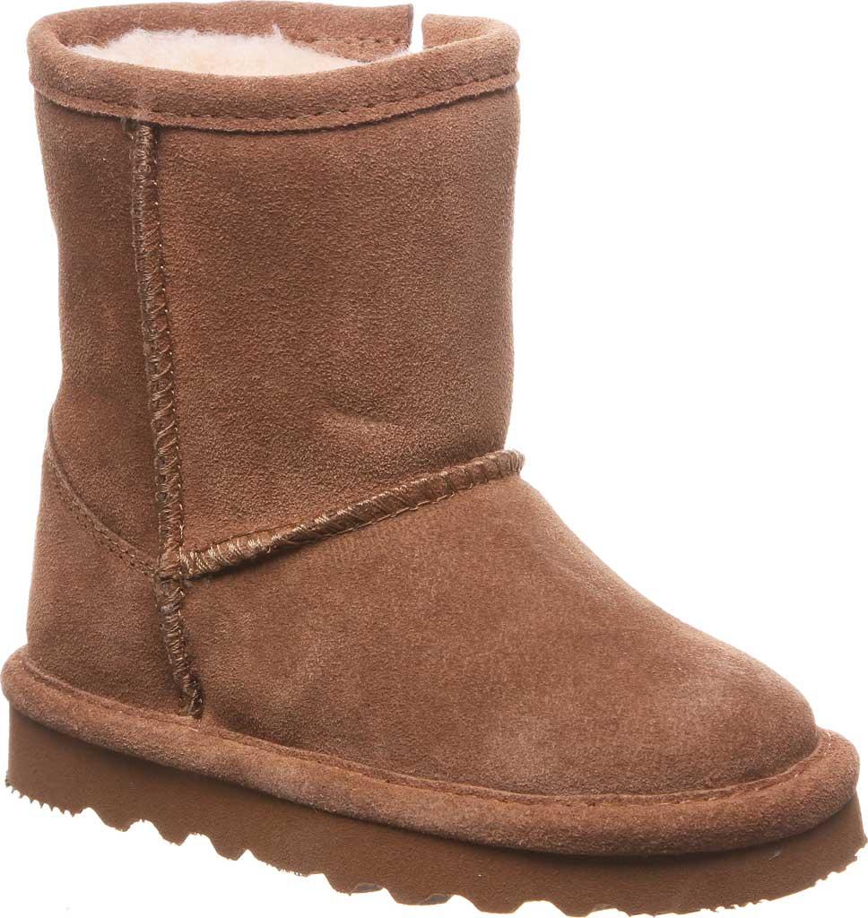 Infant Girls' Bearpaw Elle Toddler Zipper Boot, Hickory II Suede, large, image 1