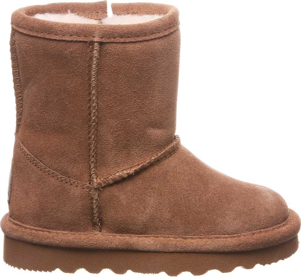 Infant Girls' Bearpaw Elle Toddler Zipper Boot, Hickory II Suede, large, image 2