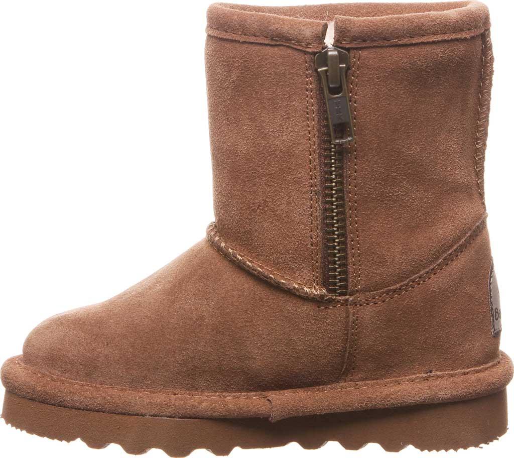 Infant Girls' Bearpaw Elle Toddler Zipper Boot, Hickory II Suede, large, image 3