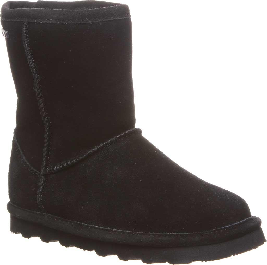 Girls' Bearpaw Helen Youth Boot, Black II Suede, large, image 1