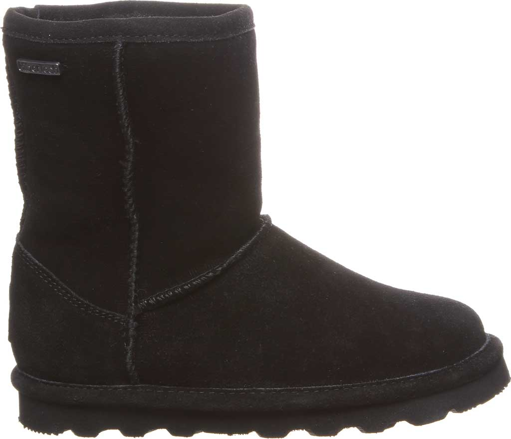 Girls' Bearpaw Helen Youth Boot, Black II Suede, large, image 2