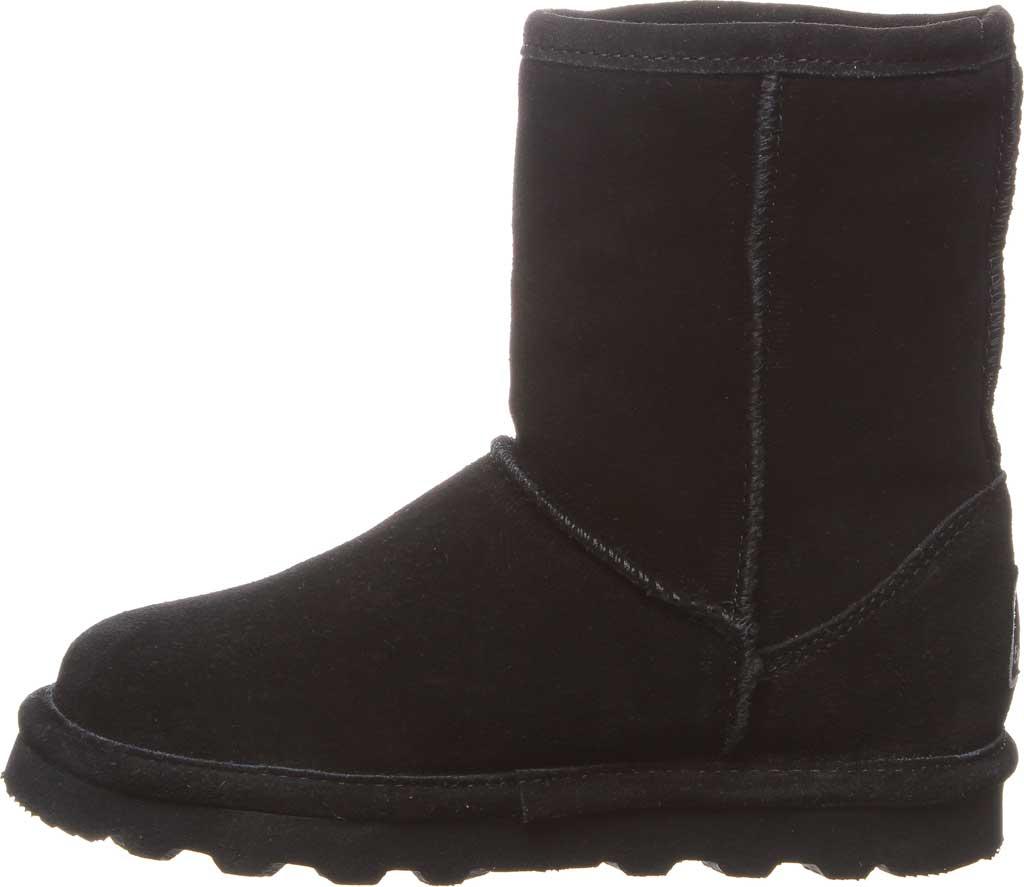 Girls' Bearpaw Helen Youth Boot, Black II Suede, large, image 3