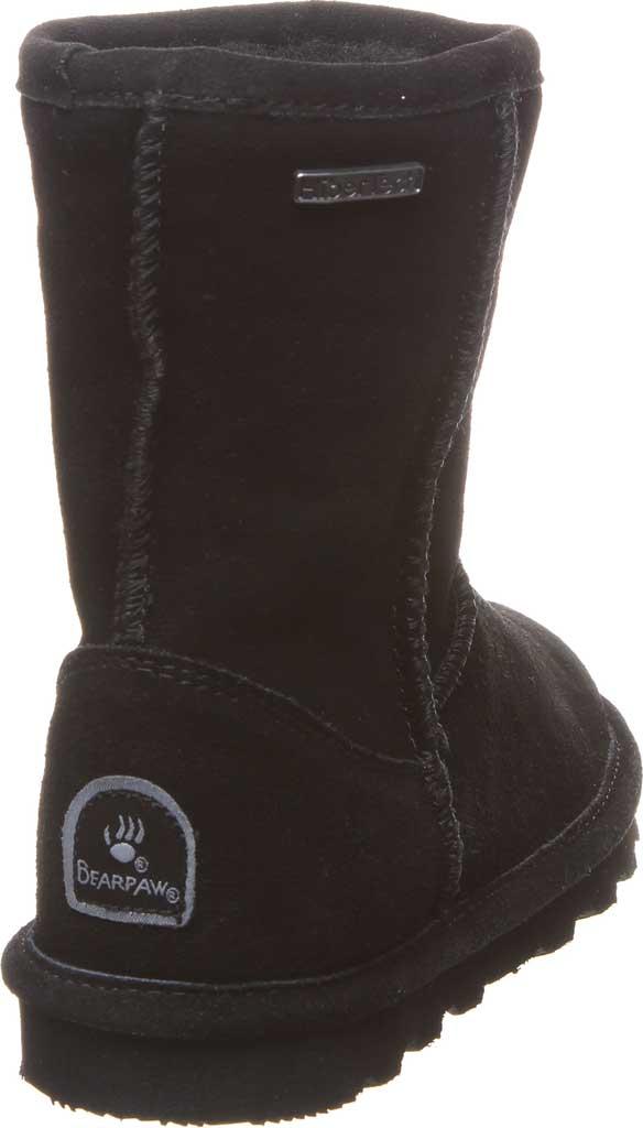 Girls' Bearpaw Helen Youth Boot, Black II Suede, large, image 4
