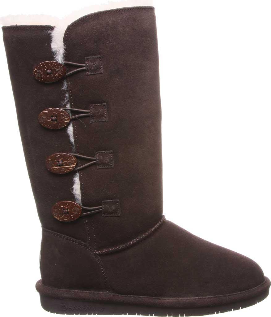 Women's Bearpaw Lori Boot, Chocolate Suede, large, image 2