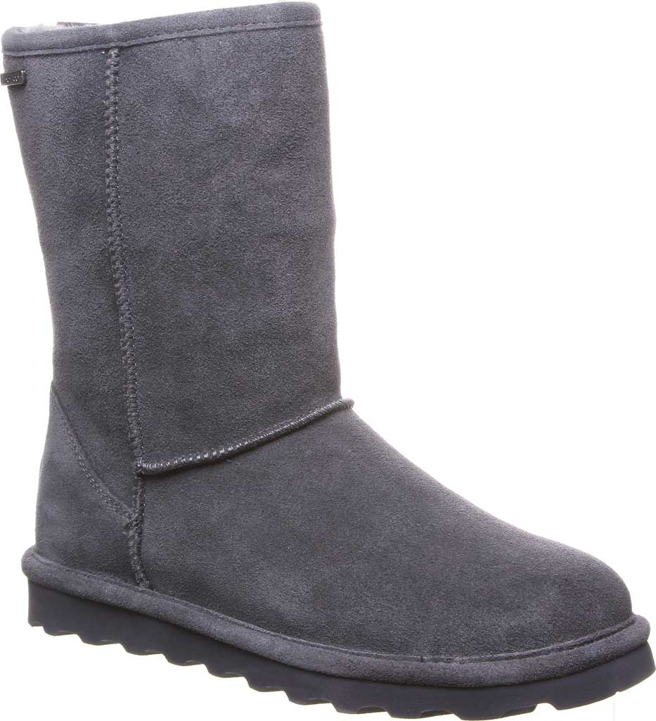 Women's Bearpaw Helen Pull On Boot, Charcoal Suede, large, image 1